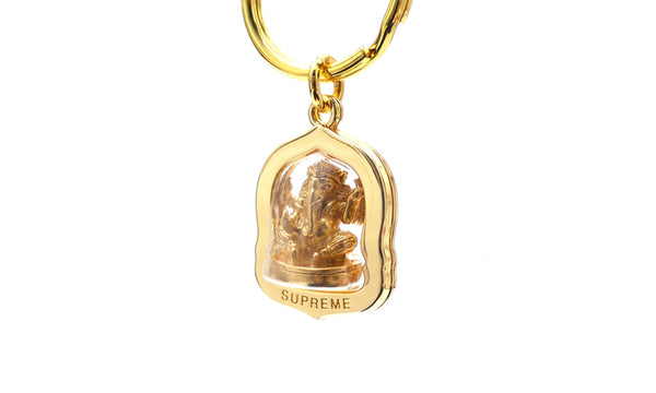 Supreme Ganesha Keychain - zero's zeros world sneakers hype streetwear street wear store stores shop los angeles melrose fairfax hollywood santa monica LA l.a. legit authentic cool kicks undefeated round two flight club solestage supreme where to buy sell trade consign yeezy yezzy yeezys vlone virgil abloh bape assc off white hype sneaker shoes streetwear sneakerhead consignment trade resale best dopest shopping