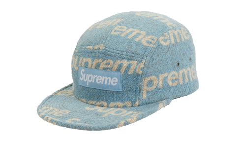 Supreme Harris Tweed Camp Cap