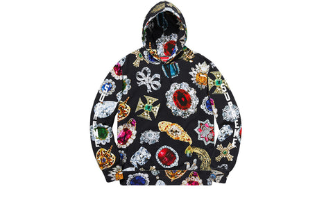 Supreme Jewels Hooded Sweatshirt