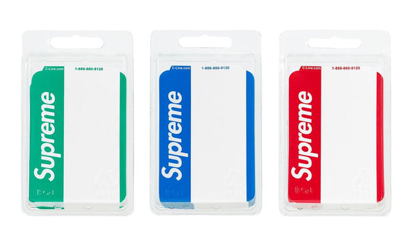 Supreme Name Badge Stickers - Zero's
