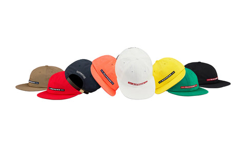 Supreme Raised Logo 6 Panel
