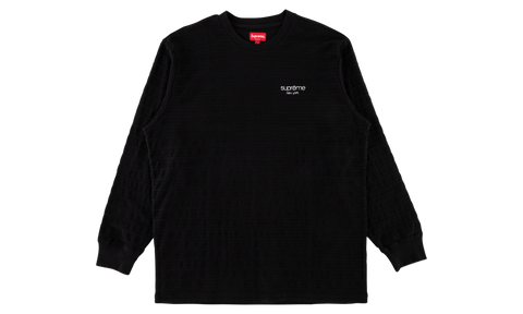 Supreme Rope Stripe Long Sleeve Top