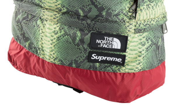 Supreme x The North Face Snakeskin Lightweight Backpack - zero's zeros world sneakers hypebeast streetwear street wear store stores shop los angeles melrose fairfax hollywood santa monica LA l.a. legit authentic cool kicks undefeated round two flight club solestage supreme where to buy sell trade consign yeezy yezzy yeezys vlone virgil abloh bape assc off white hype sneaker shoes streetwear sneakerhead consignment trade resale best dopest shopping