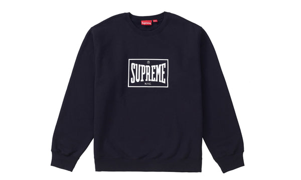 Supreme Warm Up Crewneck - zero's zeros world sneakers hype streetwear street wear store stores shop los angeles melrose fairfax hollywood santa monica LA l.a. legit authentic cool kicks undefeated round two flight club solestage supreme where to buy sell trade consign yeezy yezzy yeezys vlone virgil abloh bape assc off white hype sneaker shoes streetwear sneakerhead consignment trade resale best dopest shopping