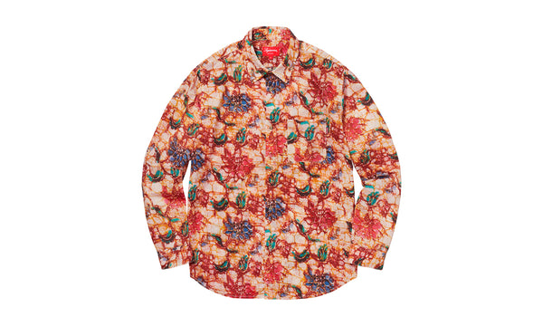 Supreme Acid Floral Button Up Shirt