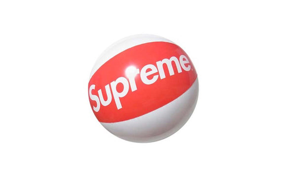 Supreme Beach Ball - zero's zeros world sneakers hypebeast streetwear street wear store stores shop los angeles melrose fairfax hollywood santa monica LA l.a. legit authentic cool kicks undefeated round two flight club solestage supreme where to buy sell trade consign yeezy yezzy yeezys vlone virgil abloh bape assc off white hype sneaker shoes streetwear sneakerhead consignment trade resale best dopest shopping