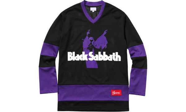 Supreme x Black Sabbath Hockey Jersey - zero's zeros world sneakers hypebeast streetwear street wear store stores shop los angeles melrose fairfax hollywood santa monica LA l.a. legit authentic cool kicks undefeated round two flight club solestage supreme where to buy sell trade consign yeezy yezzy yeezys vlone virgil abloh bape assc off white hype sneaker shoes streetwear sneakerhead consignment trade resale best dopest shopping
