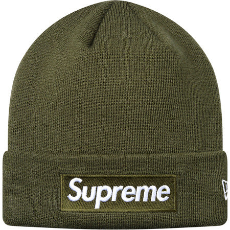 Supreme x New Era Box Logo Beanie F/W 17
