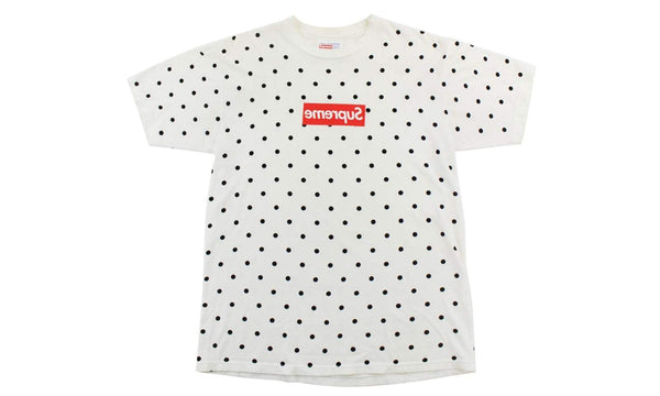 Supreme Box Logo S/S 12 CDG - zero's zeros world sneakers hype streetwear street wear store stores shop los angeles melrose fairfax hollywood santa monica LA l.a. legit authentic cool kicks undefeated round two flight club solestage supreme where to buy sell trade consign yeezy yezzy yeezys vlone virgil abloh bape assc off white hype sneaker shoes streetwear sneakerhead consignment trade resale best dopest shopping