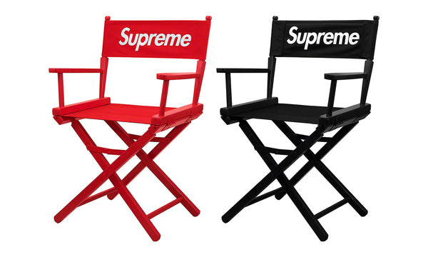 Supreme Director's Chair - zero's zeros world sneakers hypebeast streetwear street wear store stores shop los angeles melrose fairfax hollywood santa monica LA l.a. legit authentic cool kicks undefeated round two flight club solestage supreme where to buy sell trade consign yeezy yezzy yeezys vlone virgil abloh bape assc off white hype sneaker shoes streetwear sneakerhead consignment trade resale best dopest shopping