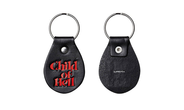 "Supreme ""Child of Hell"" Keychain"