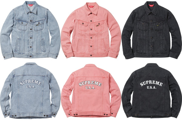 Supreme Denim Trucker Jacket - Vintage 9/10