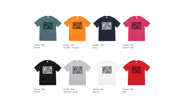 Supreme Faces Tee