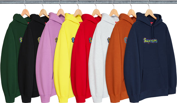 Supreme Gonz Logo Hooded Sweatshirt