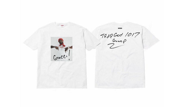 Supreme Gucci Mane Tee - zero's world sneakers store los angeles melrose round two flight club supreme
