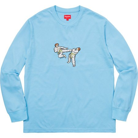 Supreme Karate L/S Tee - zero's world sneakers store los angeles melrose round two flight club supreme