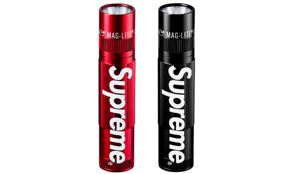 Supreme x Maglite XL50 LED Flashlight - zero's world sneakers store los angeles melrose round two flight club supreme