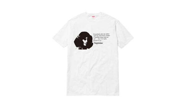 Supreme Mean Tee - zero's world sneakers store los angeles melrose round two flight club supreme