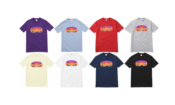 Supreme Mirage Tee - zero's world sneakers store los angeles melrose round two flight club supreme