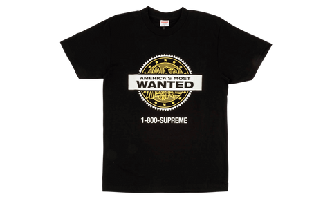 Supreme Most Wanted Tee