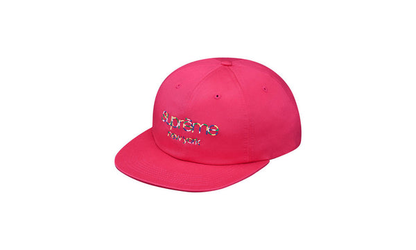 Supreme Multi Color  Twill Classic Logo 6-Panel Hat - zero's world sneakers store los angeles melrose round two flight club supreme