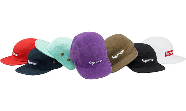 Supreme Napped Canvas Camp Cap