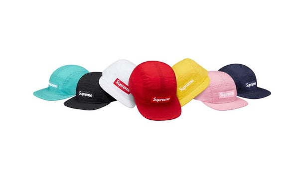 Supreme Perforated Camp Cap - zero's world sneakers store los angeles melrose round two flight club supreme