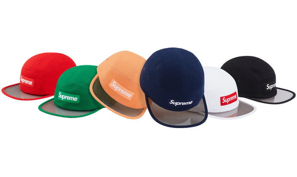 Supreme Pique Angler Camp Cap - zero's world sneakers store los angeles melrose round two flight club supreme