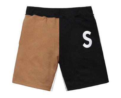 Supreme S Logo Colorblocked Sweatshort - zero's zeros world sneakers hype streetwear street wear store stores shop los angeles melrose fairfax hollywood santa monica LA l.a. legit authentic cool kicks undefeated round two flight club solestage supreme where to buy sell trade consign yeezy yezzy yeezys vlone virgil abloh bape assc off white hype sneaker shoes streetwear sneakerhead consignment trade resale best dopest shopping