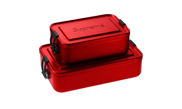 Supreme x SIGG Metal Storage Boxes