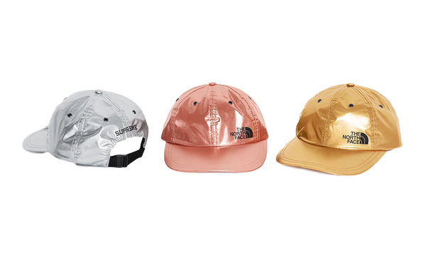 Supreme x The North Face Metallic 6-Panel Hat