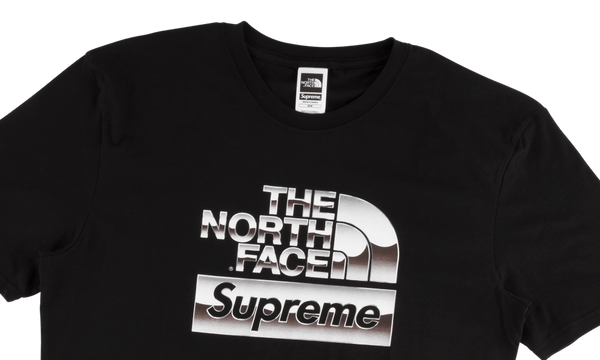 Supreme x The North Face Metallic Logo Tee
