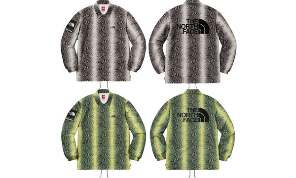 Supreme x The North Face Snakeskin Coaches Jacket