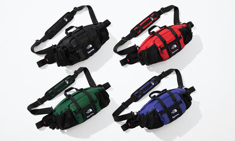 Supreme x The North Face Leather Mountain Waist Bag