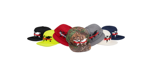 Supreme World 5 Panel Hat