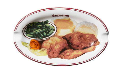 Supreme Chicken Dinner Plate Ashtray