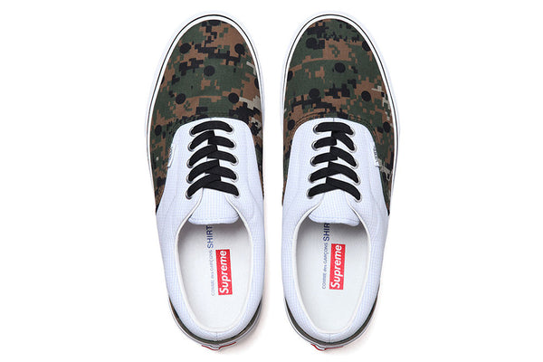 Supreme x Comme Des Garçons x Vans - zero's zeros world sneakers hypebeast streetwear street wear store stores shop los angeles melrose fairfax hollywood santa monica LA l.a. legit authentic cool kicks undefeated round two flight club solestage supreme where to buy sell trade consign yeezy yezzy yeezys vlone virgil abloh bape assc off white hype sneaker shoes streetwear sneakerhead consignment trade resale best dopest shopping