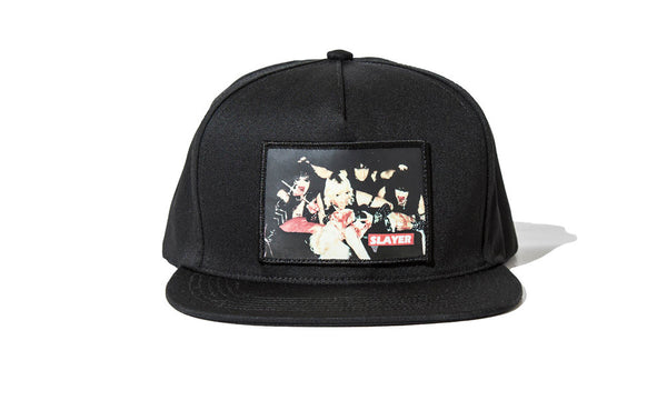 Supreme x Slayer Alter 5-Panel Hat - zero's world sneakers store los angeles melrose round two flight club supreme