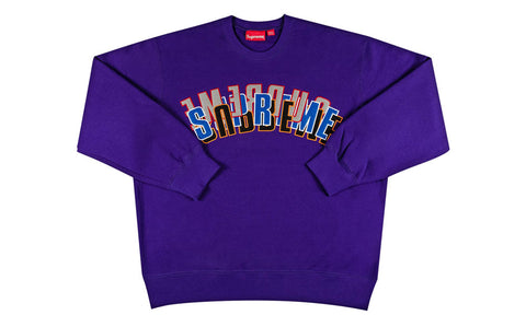 Supreme Stacked Crewneck