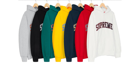 Supreme Water Arc Hooded Sweatshirt