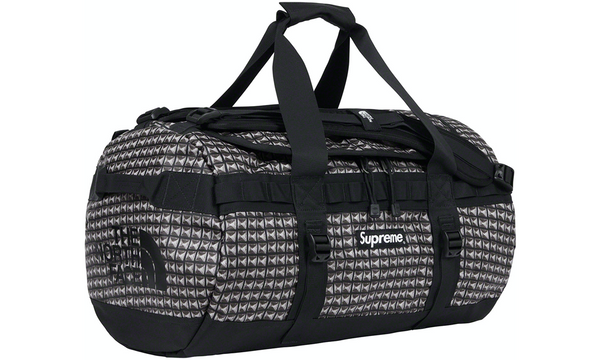 Supreme x The North Face Studded Small Base Camp Duffle Bag - Zero's