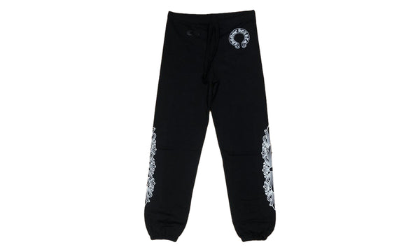 Chrome Hearts Horseshoe Floral Cross Sweatpants - Zero's