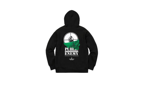 Supreme x Undercover x Public Enemy Terrordome Hoodie