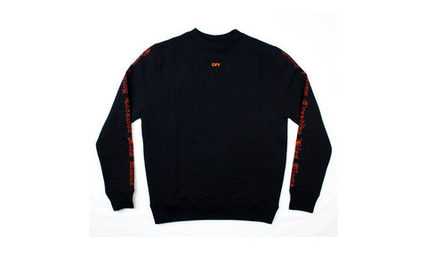 VLONE x Off White Big V L/S Crewneck