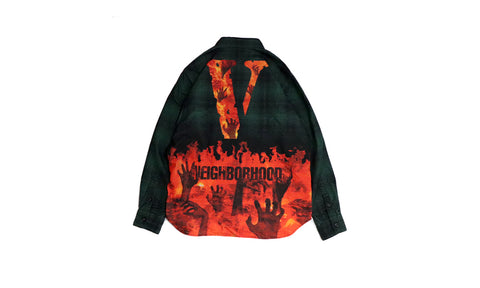 Vlone X Neighborhood Flannel
