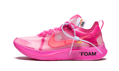 "The 10 Nike x Off White Zoom Fly ""Tulip Pink"" - zero's zeros world sneakers hypebeast streetwear street wear store stores shop los angeles melrose fairfax hollywood santa monica LA l.a. legit authentic cool kicks undefeated round two flight club solestage supreme where to buy sell trade consign yeezy yezzy yeezys vlone virgil abloh bape assc off white hype sneaker shoes streetwear sneakerhead consignment trade resale best dopest shopping"