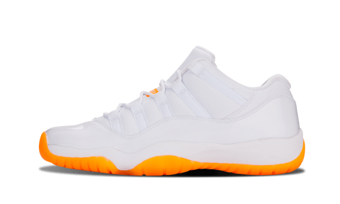 "Air Jordan 11 Low ""Citrus"" (GS) - zero's world sneakers store los angeles melrose round two flight club supreme"