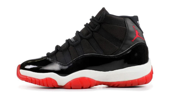"Air Jordan 11 Retro ""Bred"" 2019 - zero's zeros world sneakers hype streetwear street wear store stores shop los angeles melrose fairfax hollywood santa monica LA l.a. legit authentic cool kicks undefeated round two flight club solestage supreme where to buy sell trade consign yeezy yezzy yeezys vlone virgil abloh bape assc off white hype sneaker shoes streetwear sneakerhead consignment trade resale best dopest shopping"
