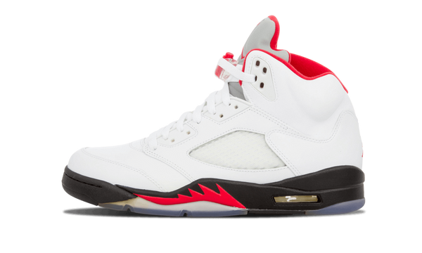 "Air Jordan 5 Retro ""White Fire Red"" - zero's world sneakers store los angeles melrose round two flight club supreme where to buy sell yeezy yezzy"