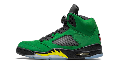 "Air Jordan 5 Retro SE ""Oregon Ducks"" - zero's zeros world sneakers hypebeast streetwear street wear store stores shop los angeles melrose fairfax hollywood santa monica LA l.a. legit authentic cool kicks undefeated round two flight club solestage supreme where to buy sell trade consign yeezy yezzy yeezys vlone virgil abloh bape assc off white hype sneaker shoes streetwear sneakerhead consignment trade resale best dopest shopping"